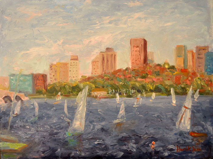Charles River and Beacon Hill