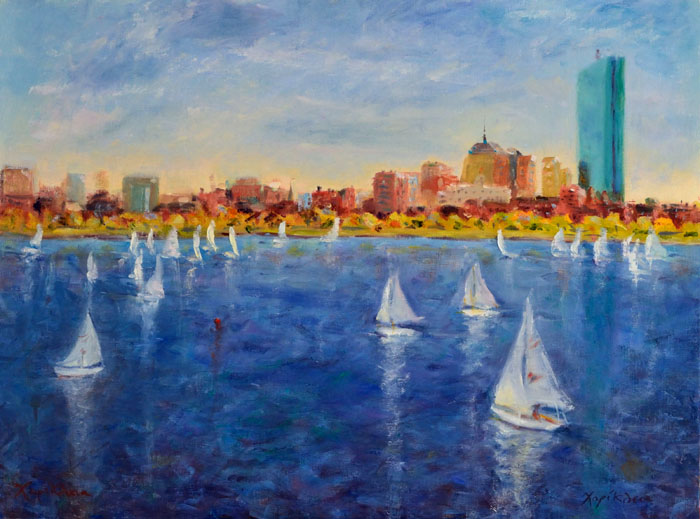 Regatta on the Charles